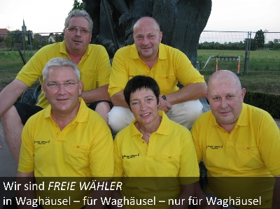 Fraktion der Freien Wähler Waghäusel